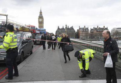 أربعة قتلى في هجوم ارهابي  أمام البرلمان البريطاني