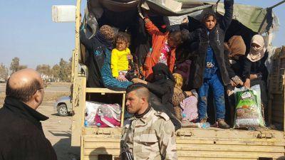 الهجرة: 355 ألف نازح من الموصل منذ إنطلاق المعركة